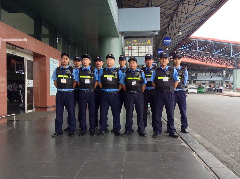 Bảo vệ sân bay - bến cảng